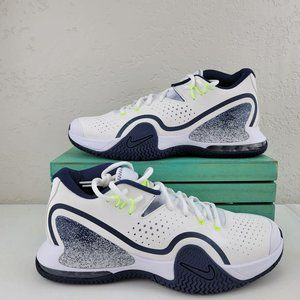 Nike Court Tech Challenge 20 White Navy Lime